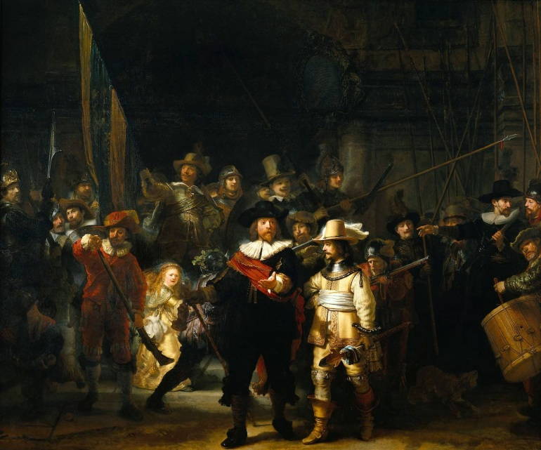 5 - The_Nightwatch_by_Rembrandt