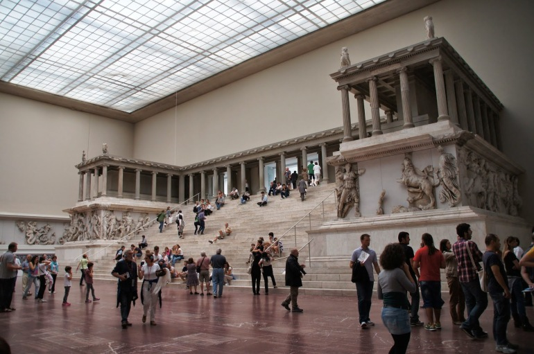 cultourberlin - museo de pergamo - altar