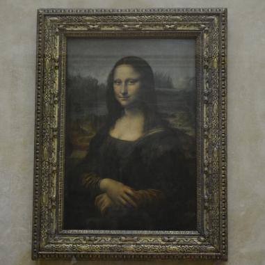 La Gioconda de Leonardo da Vinci.