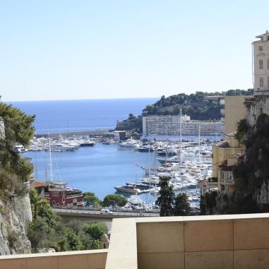 Vista desde Gare de Monaco.