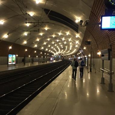 Gare de Monaco.
